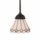 ELK Mix-N-Match 1-Light Pendant in Tiffany Bronze EK-078-TB-04