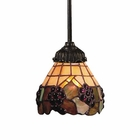 ELK Mix-N-Match 1-Light Pendant in Tiffany Bronze EK-078-TB-07