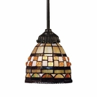 ELK Mix-N-Match 1-Light Pendant in Tiffany Bronze EK-078-TB-10