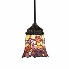 ELK Mix-N-Match 1-Light Pendant in Tiffany Bronze EK-078-TB-17