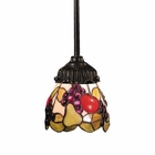 ELK Mix-N-Match 1-Light Pendant in Tiffany Bronze EK-078-TB-19