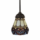 ELK Mix-N-Match 1-Light Pendant in Tiffany Bronze EK-078-TB-21