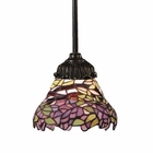 ELK Mix-N-Match 1-Light Pendant in Tiffany Bronze EK-078-TB-28