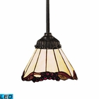 ELK Mix-N-Match 1-Light Pendant in Tiffany Bronze - Led EK-078-TB-03-LED