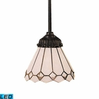 ELK Mix-N-Match 1-Light Pendant in Tiffany Bronze - Led EK-078-TB-04-LED