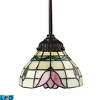 ELK Mix-N-Match 1-Light Pendant in Tiffany Bronze - Led EK-078-TB-09-LED