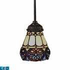 ELK Mix-N-Match 1-Light Pendant in Tiffany Bronze - Led EK-078-TB-21-LED
