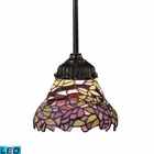 ELK Mix-N-Match 1-Light Pendant in Tiffany Bronze - Led EK-078-TB-28-LED