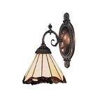 ELK Mix-N-Match 1-Light Sconce in Tiffany Bronze EK-071-TB-03