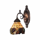 ELK Mix-N-Match 1-Light Sconce in Tiffany Bronze EK-071-TB-07