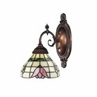 ELK Mix-N-Match 1-Light Sconce in Tiffany Bronze EK-071-TB-09