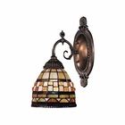 ELK Mix-N-Match 1-Light Sconce in Tiffany Bronze EK-071-TB-10
