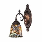 ELK Mix-N-Match 1-Light Sconce in Tiffany Bronze EK-071-TB-12