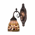 ELK Mix-N-Match 1-Light Sconce in Tiffany Bronze EK-071-TB-13