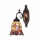 ELK Mix-N-Match 1-Light Sconce in Tiffany Bronze EK-071-TB-17