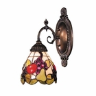 ELK Mix-N-Match 1-Light Sconce in Tiffany Bronze EK-071-TB-19