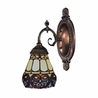 ELK Mix-N-Match 1-Light Sconce in Tiffany Bronze EK-071-TB-21