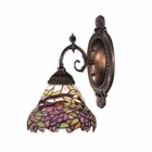 ELK Mix-N-Match 1-Light Sconce in Tiffany Bronze EK-071-TB-28