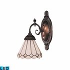 ELK Mix-N-Match 1-Light Sconce in Tiffany Bronze - Led EK-071-TB-04-LED
