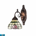 ELK Mix-N-Match 1-Light Sconce in Tiffany Bronze - Led EK-071-TB-09-LED
