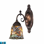 ELK Mix-N-Match 1-Light Sconce in Tiffany Bronze - Led EK-071-TB-12-LED