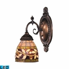 ELK Mix-N-Match 1-Light Sconce in Tiffany Bronze - Led EK-071-TB-13-LED