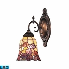 ELK Mix-N-Match 1-Light Sconce in Tiffany Bronze - Led EK-071-TB-17-LED