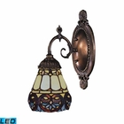 ELK Mix-N-Match 1-Light Sconce in Tiffany Bronze - Led EK-071-TB-21-LED