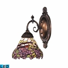 ELK Mix-N-Match 1-Light Sconce in Tiffany Bronze - Led EK-071-TB-28-LED