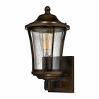 ELK Morganview 1 Light Outdoor Sconce in Hazelnut Bronze EK-45150-1