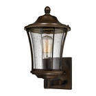 ELK Morganview 1 Light Outdoor Sconce in Hazelnut Bronze EK-45151-1