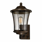 ELK Morganview 1 Light Outdoor Sconce in Hazelnut Bronze EK-45152-1