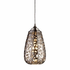 ELK Nestor 1-Light Pendant in Chrome EK-20064-1