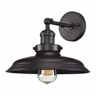 ELK Newberry Collection 1 Light Sconce in Oil Rubbed Bronze EK-55040-1
