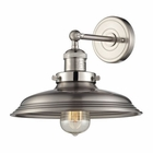 ELK Newberry Collection 1 Light Sconce in Satin Nickel EK-55020-1