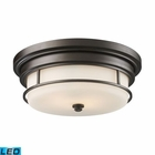 ELK Newfield 2-Light Flush Mount in - Led EK-66254-2-LED