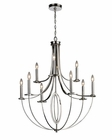 ELK Nine Light Chandelier Dione EK-10159