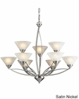 ELK Nine Light Chandelier Elysburg EK-7638
