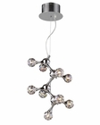 ELK Nine Light Chandelier Molecular EK-30024