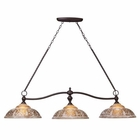 ELK Norwich 3-Light Billiard/Island Light in Oiled Bronze EK-66195-3