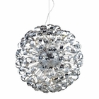 ELK Odyssey 42-Light Pendant in Polished Chrome EK-30007-42
