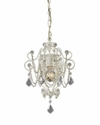 ELK One Light Mini Chandelier Elise EK-12017