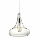 ELK Orbital 1 Light Pendant in Polished Chrome EK-10422-1