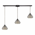 ELK Orbital 3 Light Pendant in Oil Rubbed Bronze EK-10434-3L
