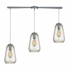 ELK Orbital  Light Pendant in Polished Chrome EK-10423-3L