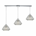 ELK Orbital  Light Pendant in Polished Chrome EK-10424-3L