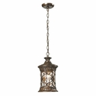 ELK Orlean Collection 1 Light Outdoor Pendant in Hazelnut Bronze EK-45083-1
