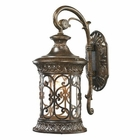 ELK Orlean Collection 1 Light Outdoor Sconce in Hazelnut Bronze EK-45080-1