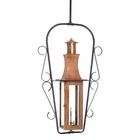 ELK Outdoor Gas Ceiling Lantern Maryville Collection in Solid Brass in An Aged Copper Finish. EK-7912-WP
