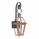 ELK Outdoor Gas Shepherd'S Scroll Wall Lantern Grande Isle Collection in Solid Brass in An Aged Copper Finish. EK-7927-WP